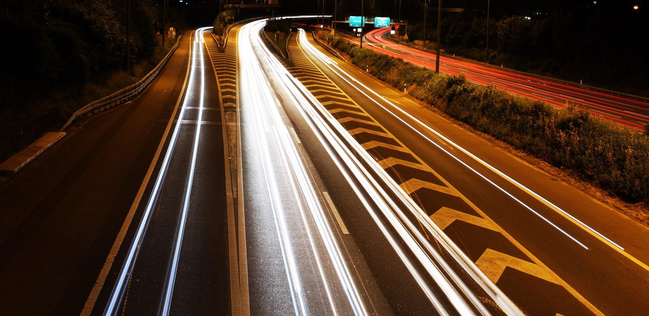 belichtung-autobahn