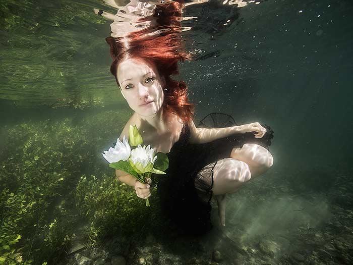 Unterwasserfotografie Tipps trübe Gewässer