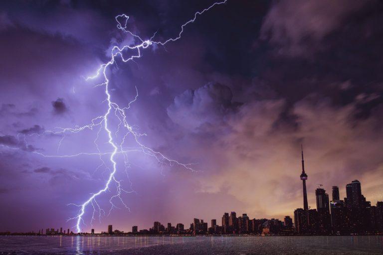 Blitze Gewitter fotografieren Anleitung