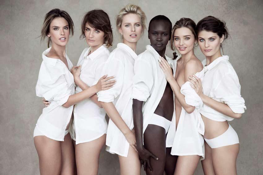 beruehmte fotografen peter linbergh models