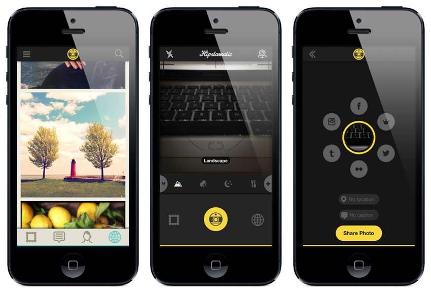 hipstamatic app retro fotogrfie
