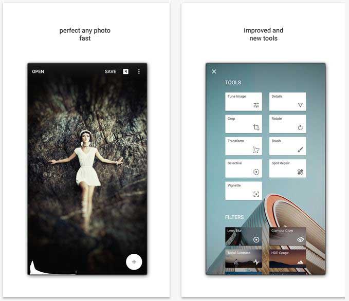 snapseed fotografen app