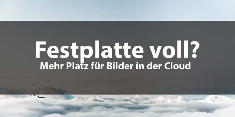 kostenloser cloud speicher fotos fotografen