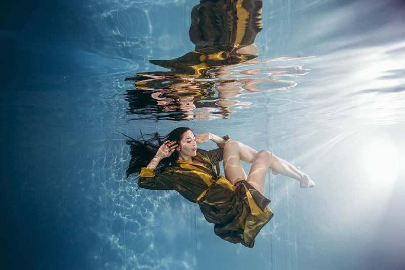 unterwasser-bild-model