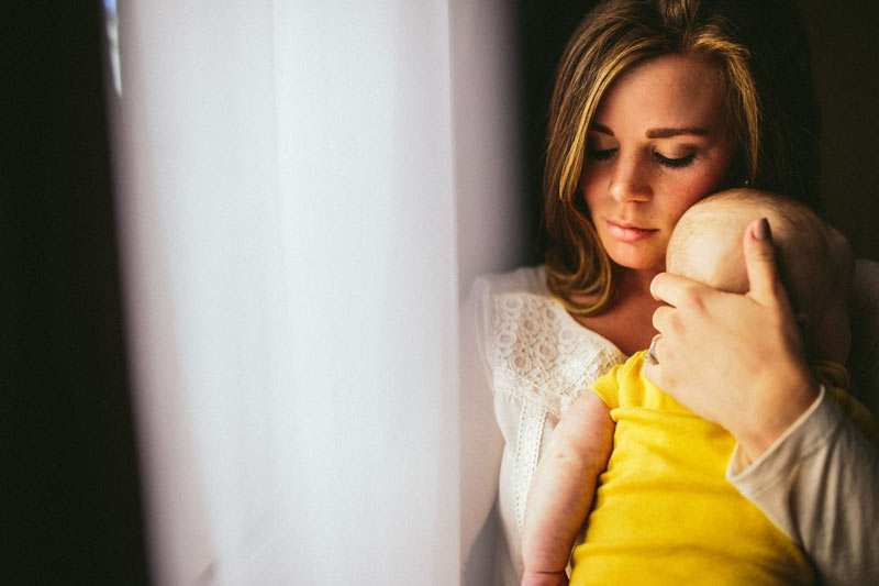 babyfotografie mutter und baby
