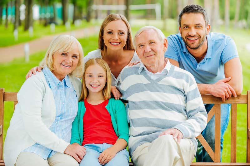 familienportrait diagonalen