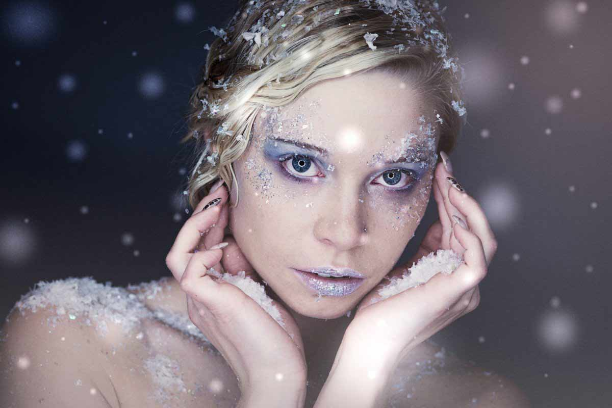 beauty shooting styling makeup hair