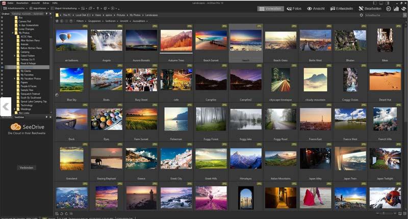 bilder verwalten software fotomanager ACDSee