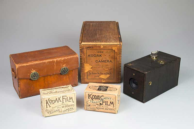 geschichte der fotografie kodak film 1888