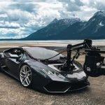 Lamborghini Huracan Kameraplattform