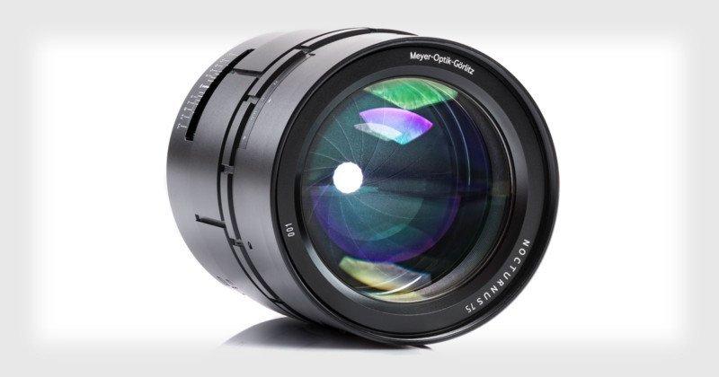 Nocturnus Obektiv 75mm f0.95