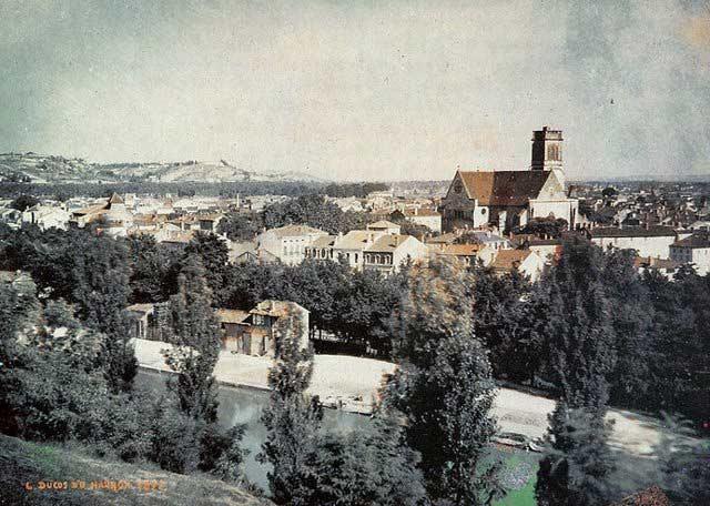 erste fotografie landschaft
