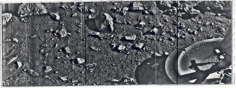 erste fotografie vom mars