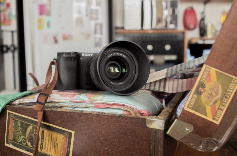 Foto-Ausrüstung Canon Sony