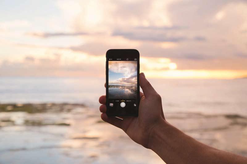 landschaftsfotografie smartphone framing