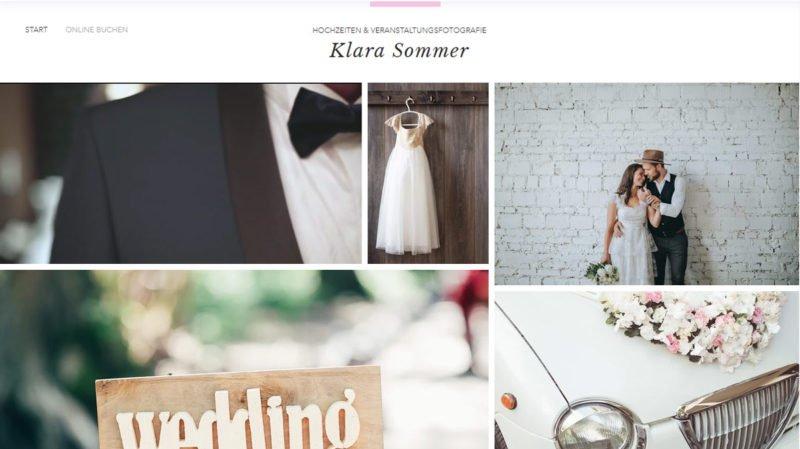 Hochzeitsfotografie Checkliste Website