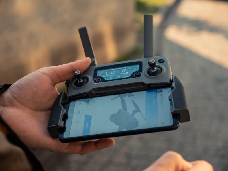 Drohnenfotografie Vorbereitung