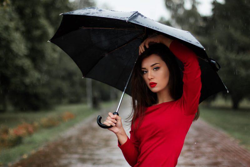 Modeshooting schlechtes Wetter