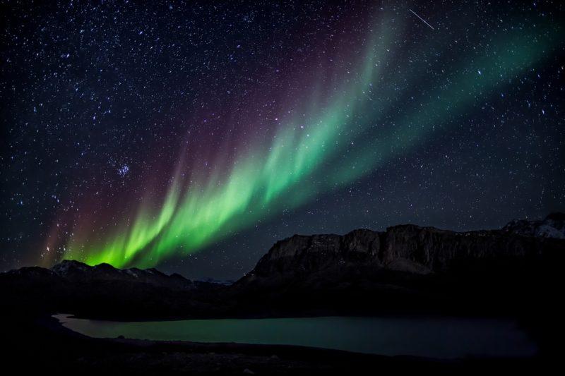Polarlichter fotografieren Aurora Borealis