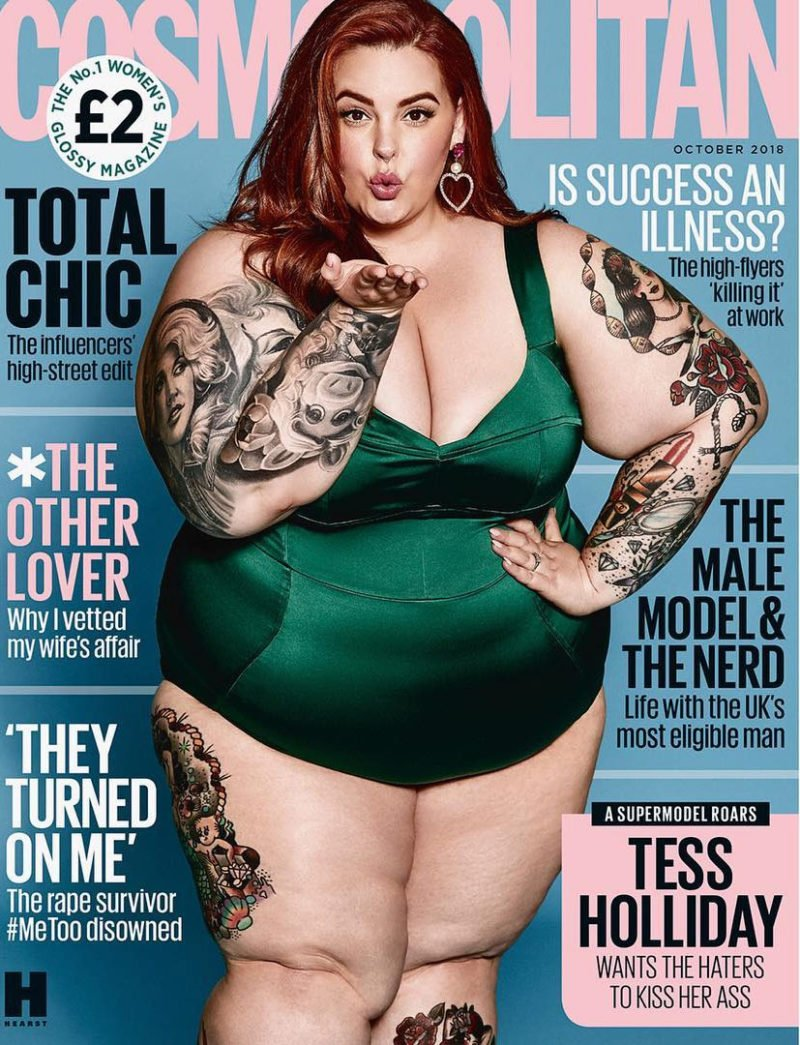 Beruehmte Plus Size Models Tess Holliday