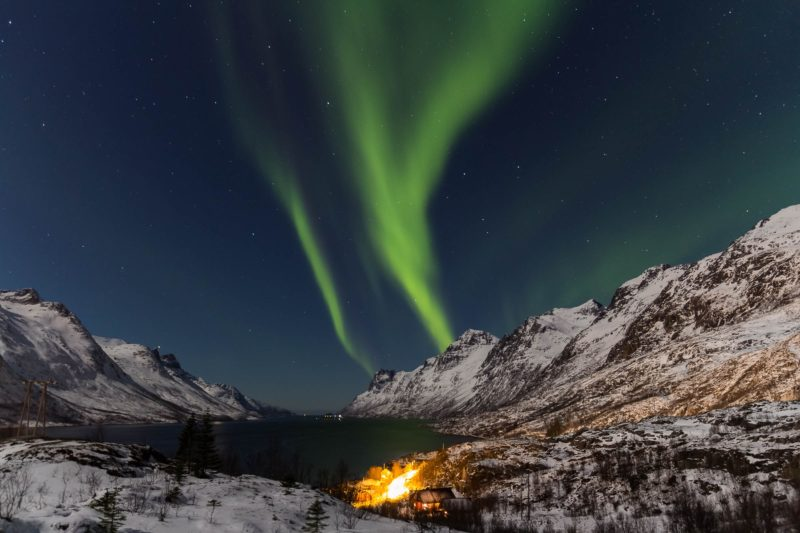Nordlichter fotografieren am See