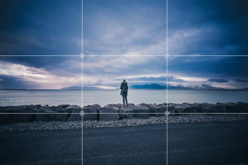 drittelregel fotografie bewusst brechen