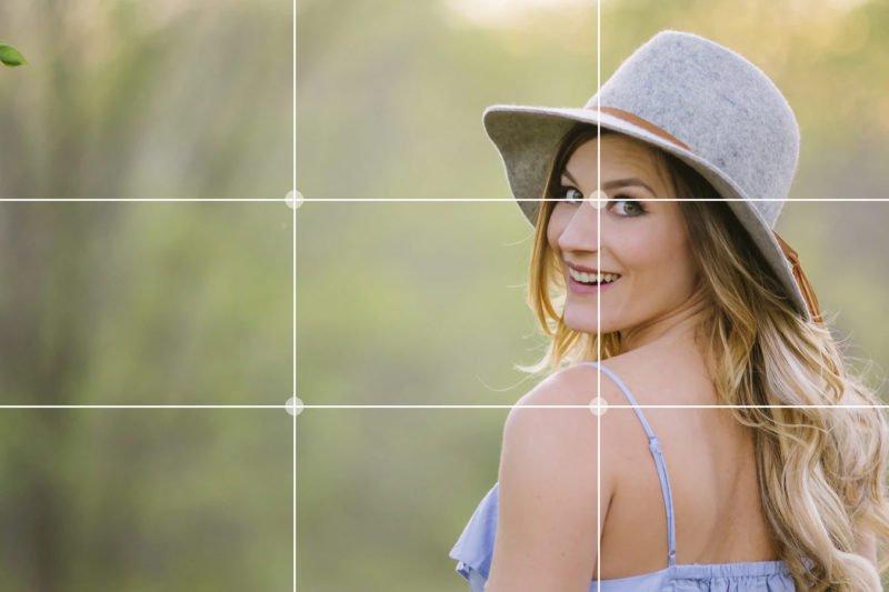 Drittelregel Fotografie Augen Fokussieren