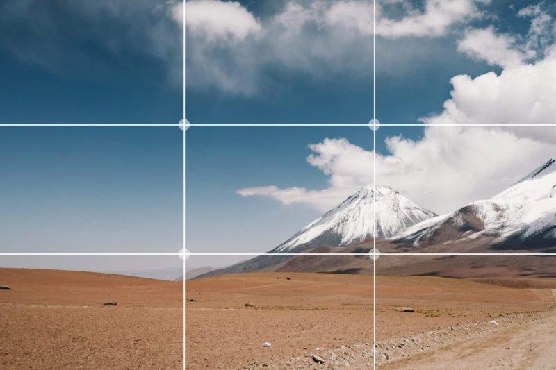 Drittelregel beim Fotografieren richtig anwenden