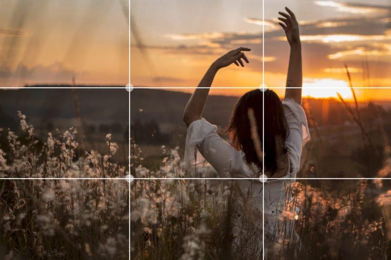 Drittelregel Fotografie Tipp