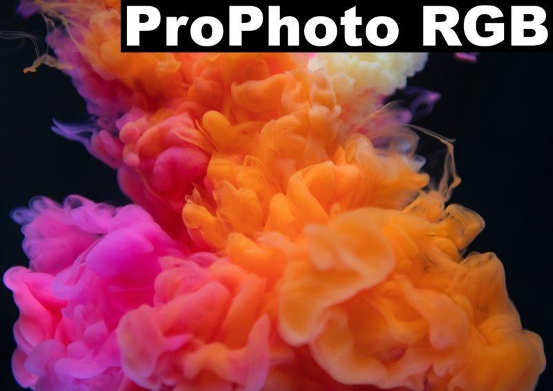 Monitorkalibrierung Farbbeispiel ProPhoto RGB