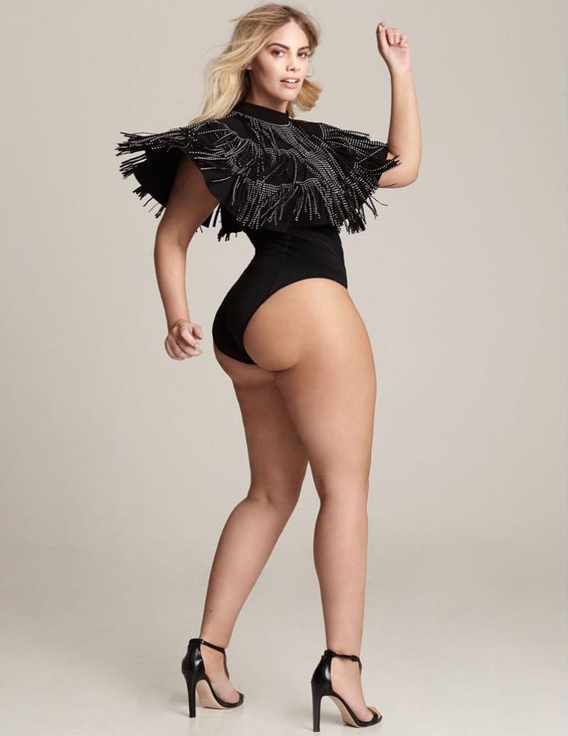 Angelina Kirsch Curvy Model
