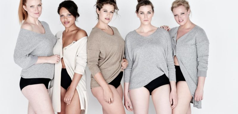 Plus Size Models Gruppe