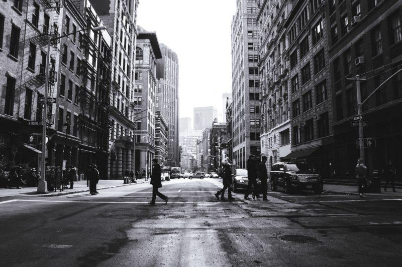 Städtefotografie Schwarzweiss