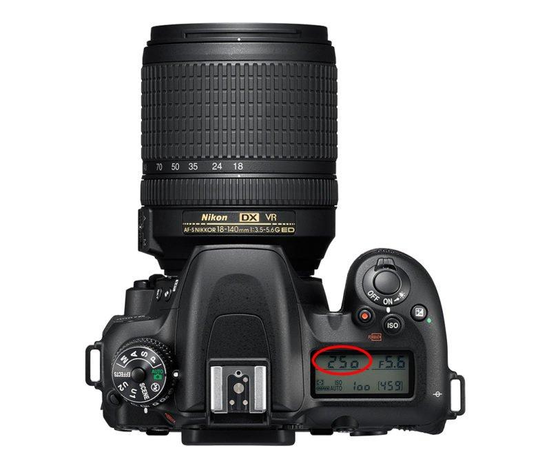 Belichtungszeit DSLR Kamera
