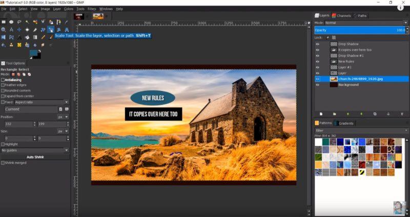Bildbearbeitungsprogramm kostenlos GIMP