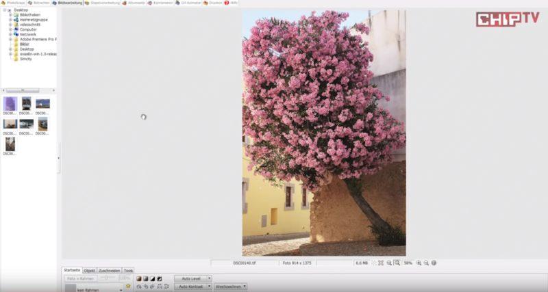 Bildbearbeitungssoftware gratis PhotoScape