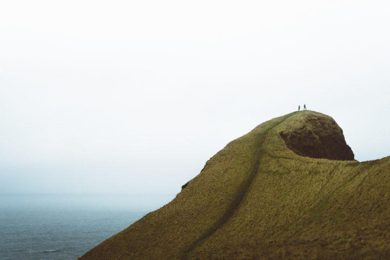 Führende Linien Hügel