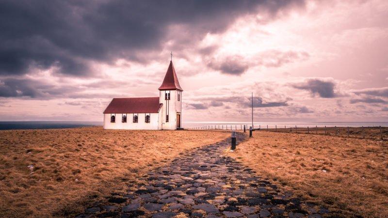 Führende Linien Kirche