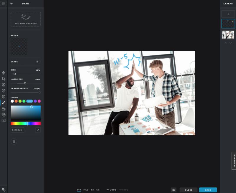 Fotoprogramm kostenfrei Pixlr X