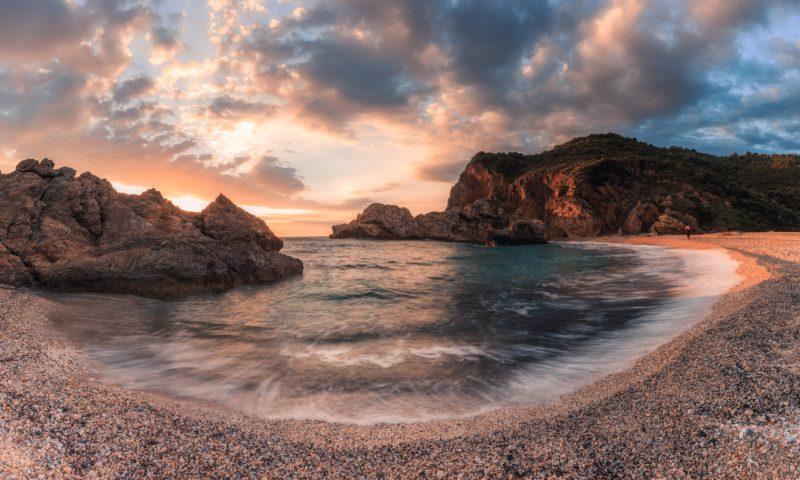 Panoramafotografie Paorama Pelion Lodge Griechenland
