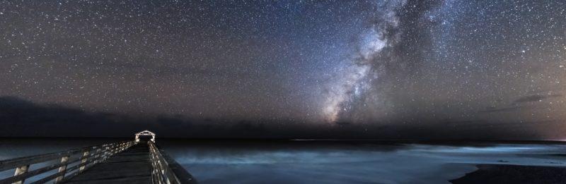 Panoramafotografie Paorama Sternenhimmel USA