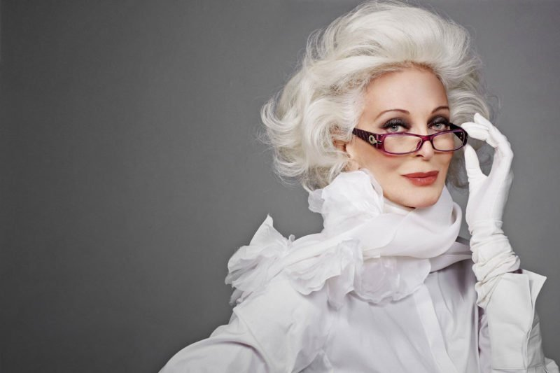 Best Ager Model Carmen Dell'Orefice