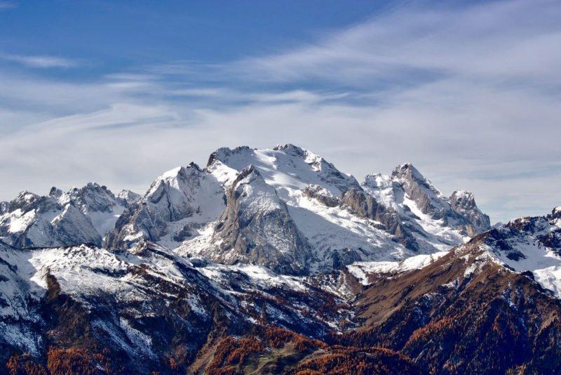 Hyperfokale Distanz Bergkette ohne Vordergrundelement fotografieren