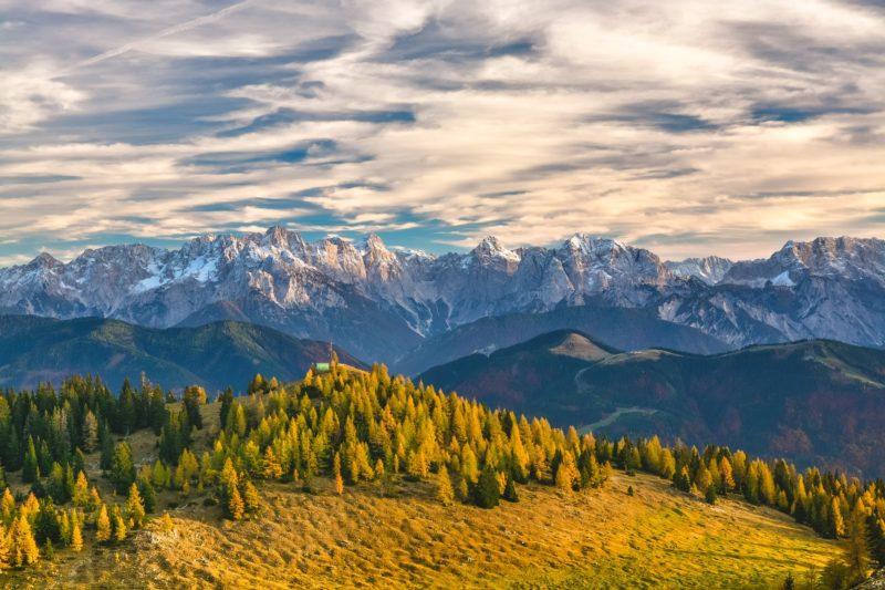 Polfilter Berge