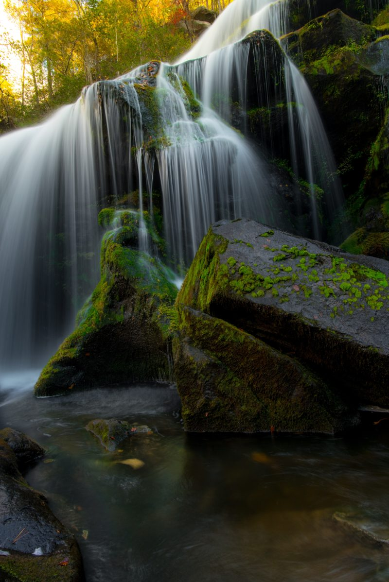Polfilter Wasserfall