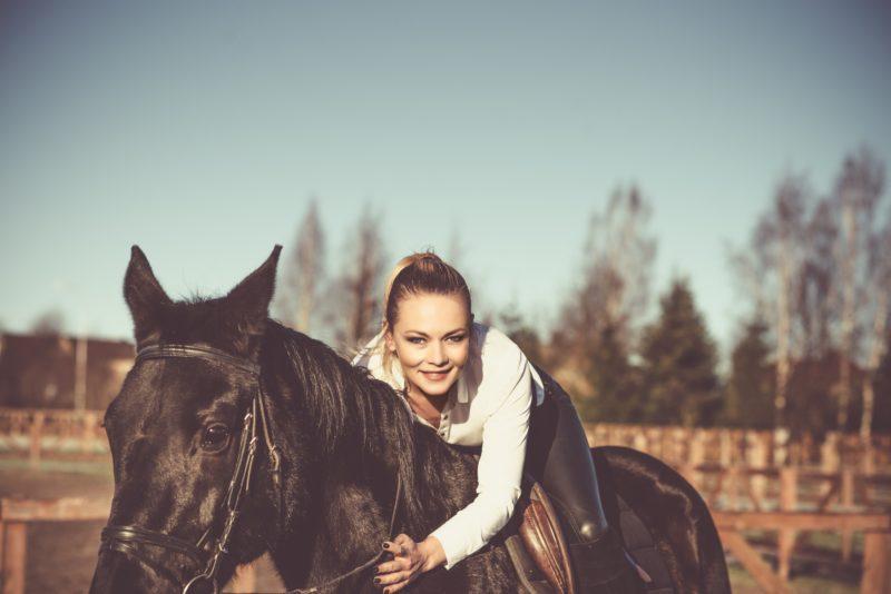 Pferdefotografie Interaktion