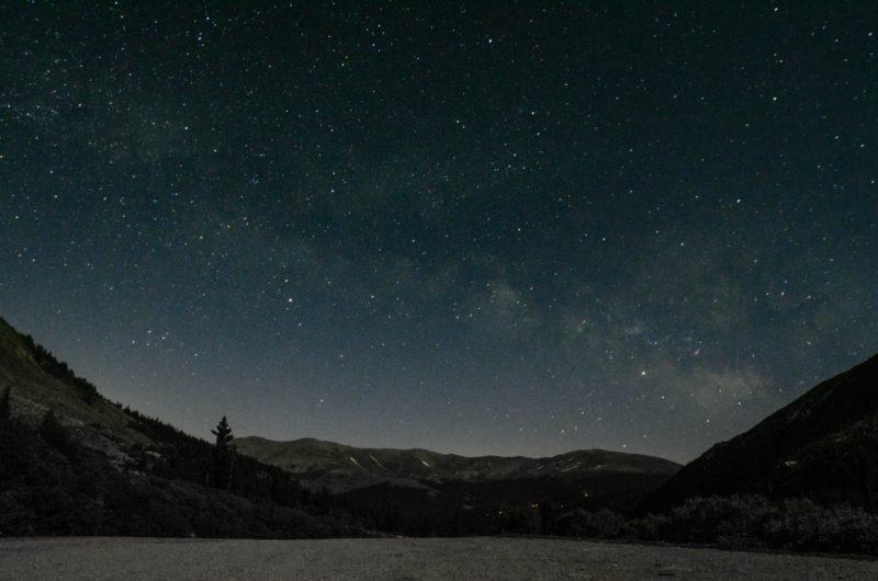 Bildrauschen Milchstrasse Milkyway
