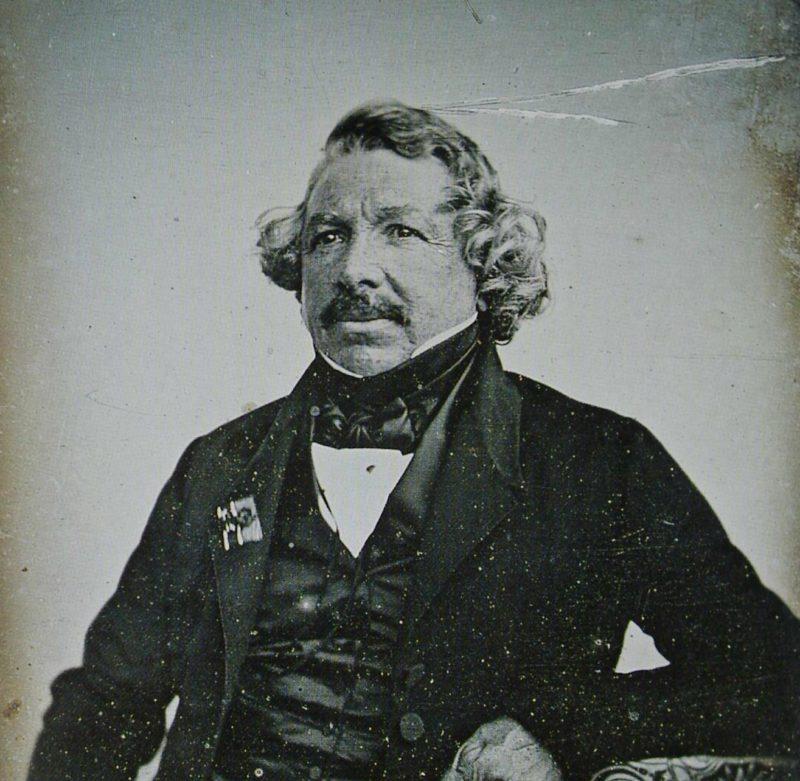 Was ist Fotografie - Louis Jacques Mandé Daguerre