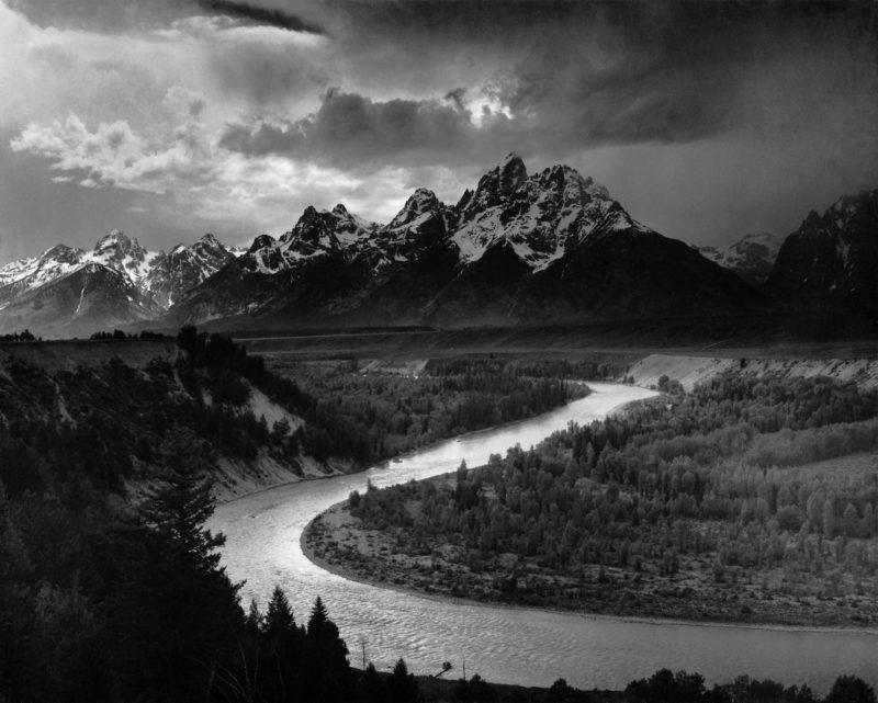 Grand Tetons - Bild von Ansel Adams