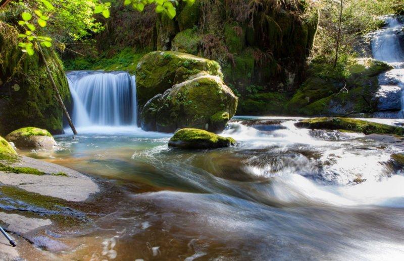Wasserfall Motion Blur